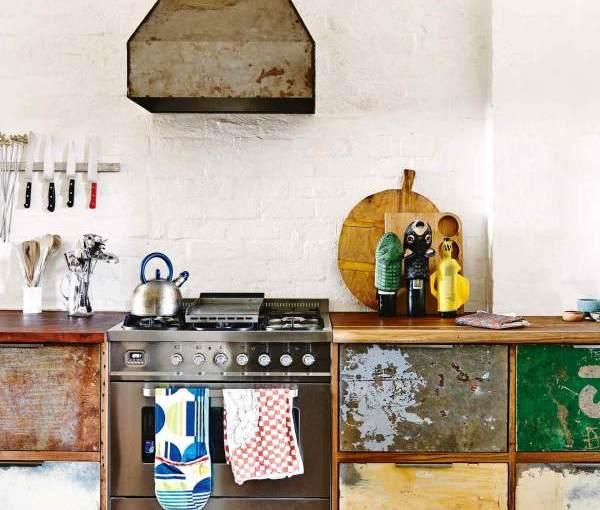 Industrial style kitchen furniture