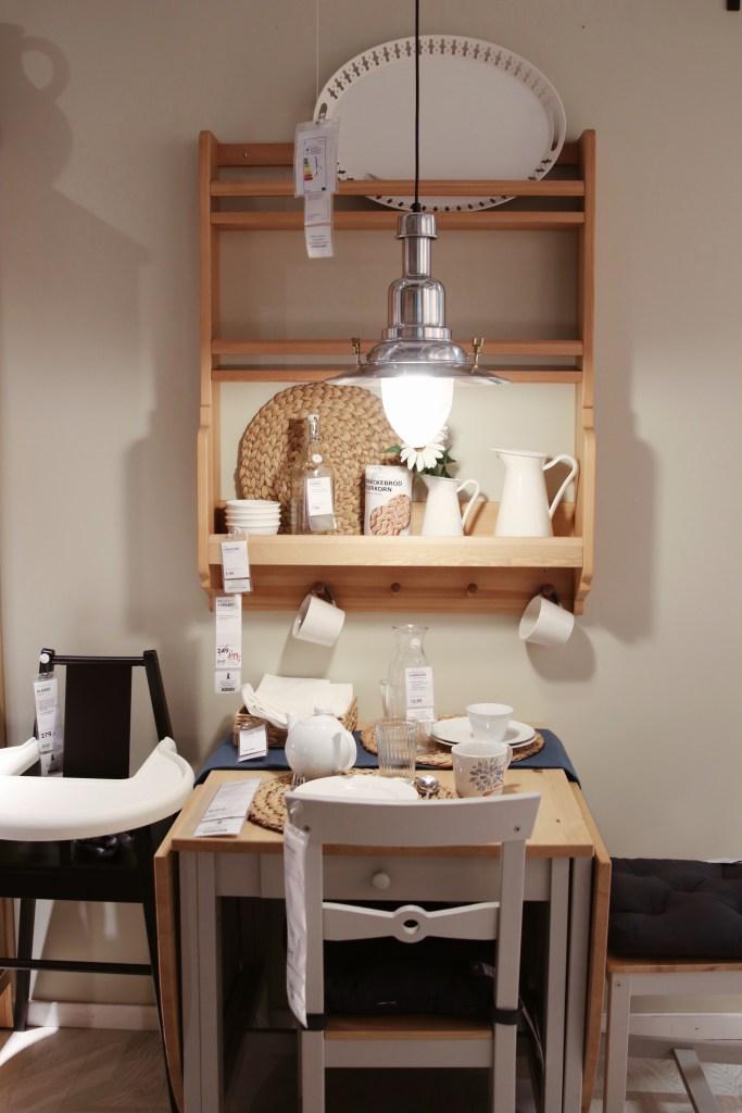 Półka w jadalni IKEA