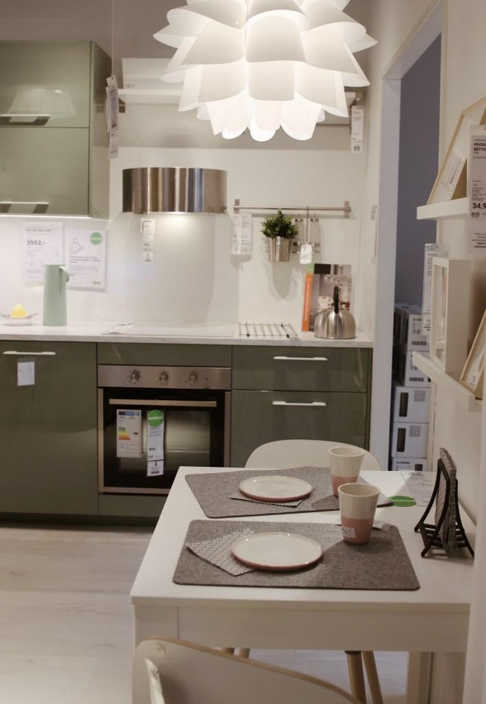 Lampa do jadalni IKEA skandynawski design