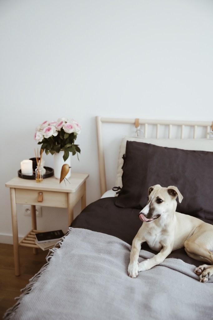aranżacja małej sypialni IKEA