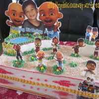 Upin & Ipin B'day Cake for Arel
