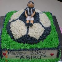 Abi's Soccer B'day Cake