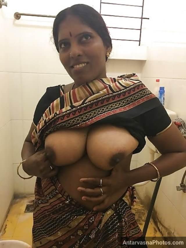 apne chodu yaar ko boobs dikhati aunty ki pic