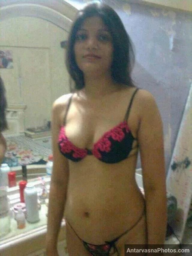 sexy indian babe new bra panty me chudne ko taiyar
