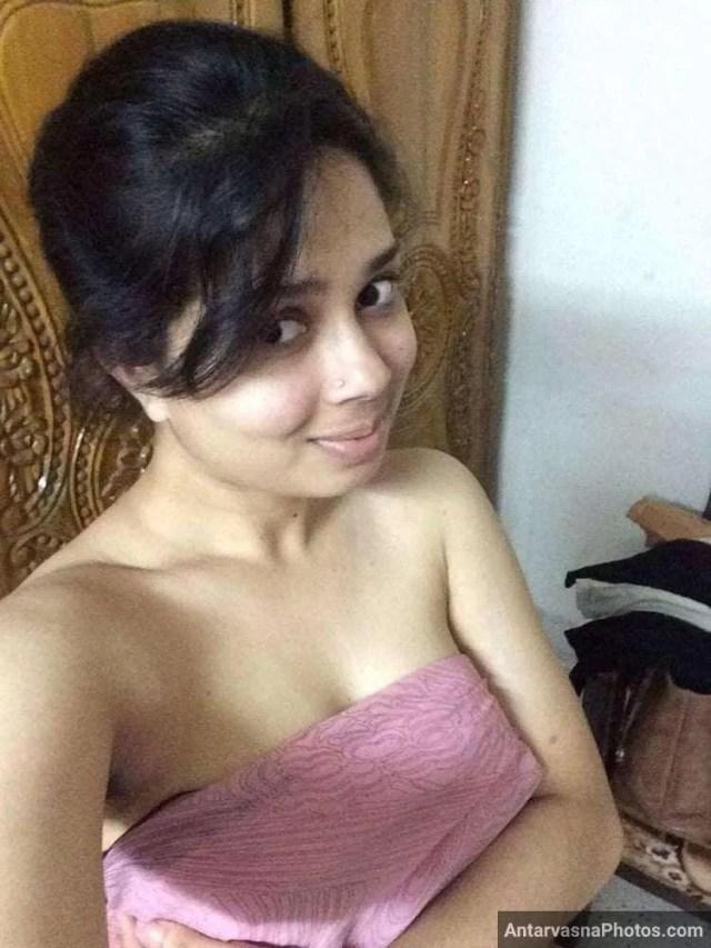 sexy marathi big boobs bhabhi girlfriend selfies 50