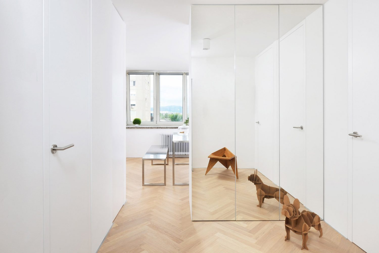Studio Arhitektura Doo Restores Apartment At Ljubljana Towers