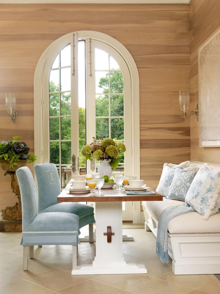 banana leaf dining room chairs toyota sienna captains removal in good taste: marshall watson interiors - design chic