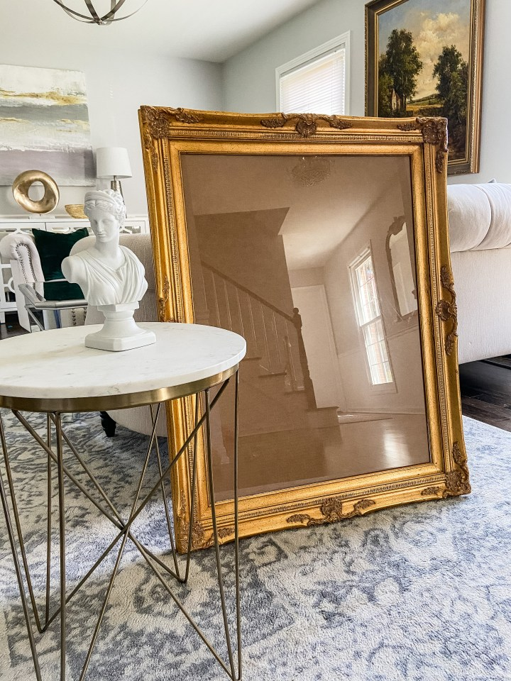 Family Room One Room Challenge, Week 2: Sourcing Art and Frames