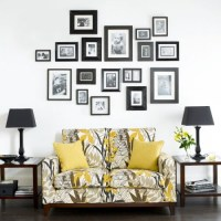 Ideas to decorate walls with pictures   My desired home