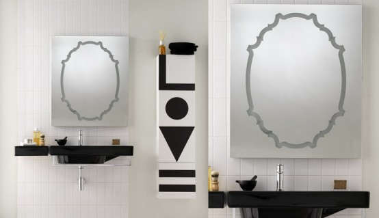 Bathroom Design Inspirations In Black And White