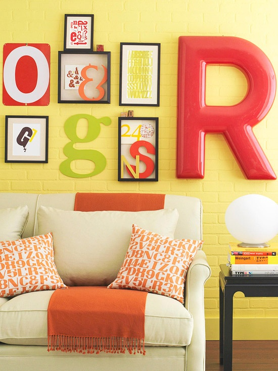 From A To Z Of Decorating Inspired Decorations With