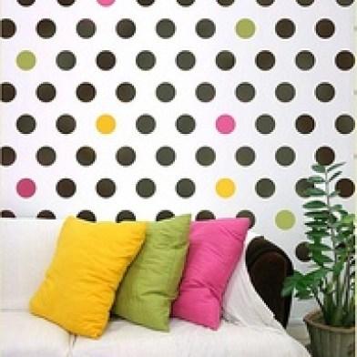 Polka dots decor trend ideas5