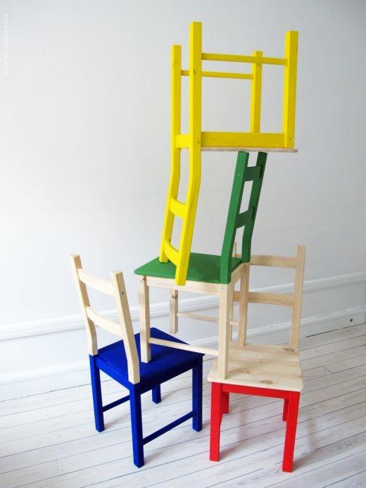 make an old chair modern2