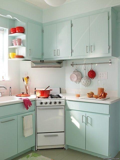 mint kitchen ideas8