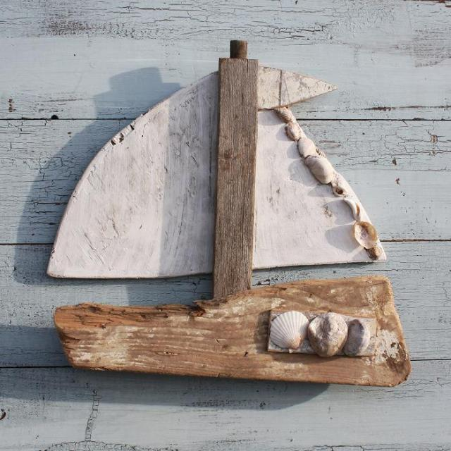 Best Diy Driftwood inspirations -driftwood-sailboat