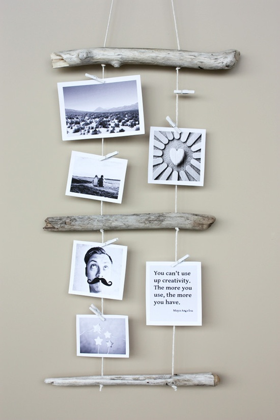 Best Diy Driftwood inspirations foto holder