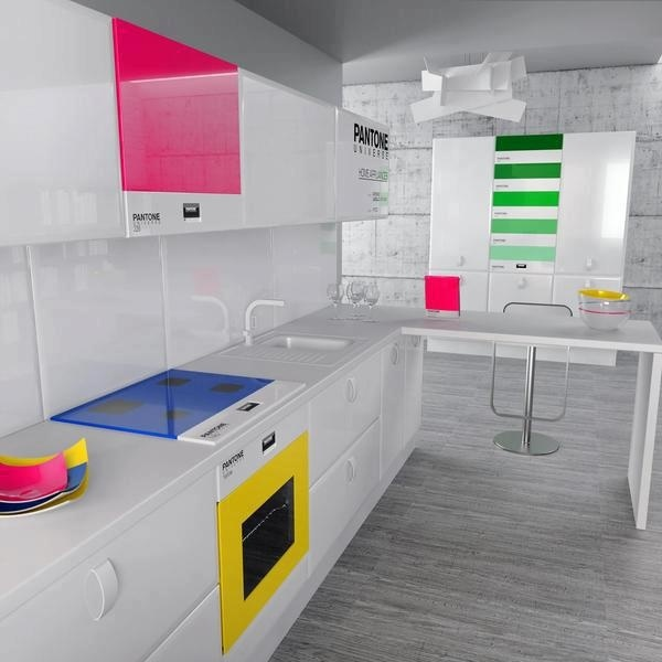 A smart way to give color to your kitchen1