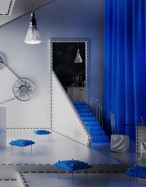 painting inspired interior design decoration7