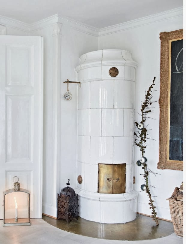 Christmas atmosphere and Spirit  in a beautiful Denmark home7