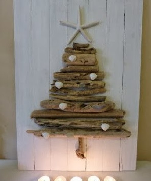 wooden Christmas tree ideas11