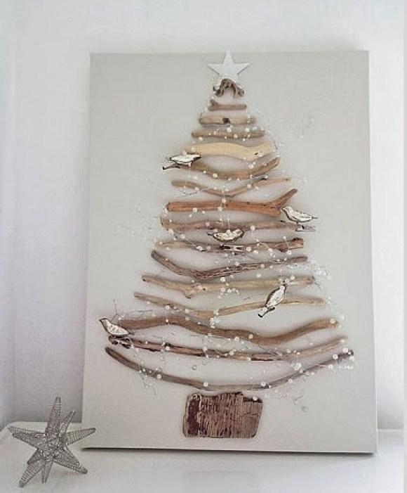 wooden Christmas tree ideas14