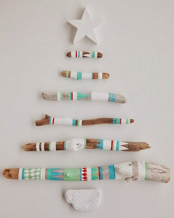 wooden Christmas tree ideas27