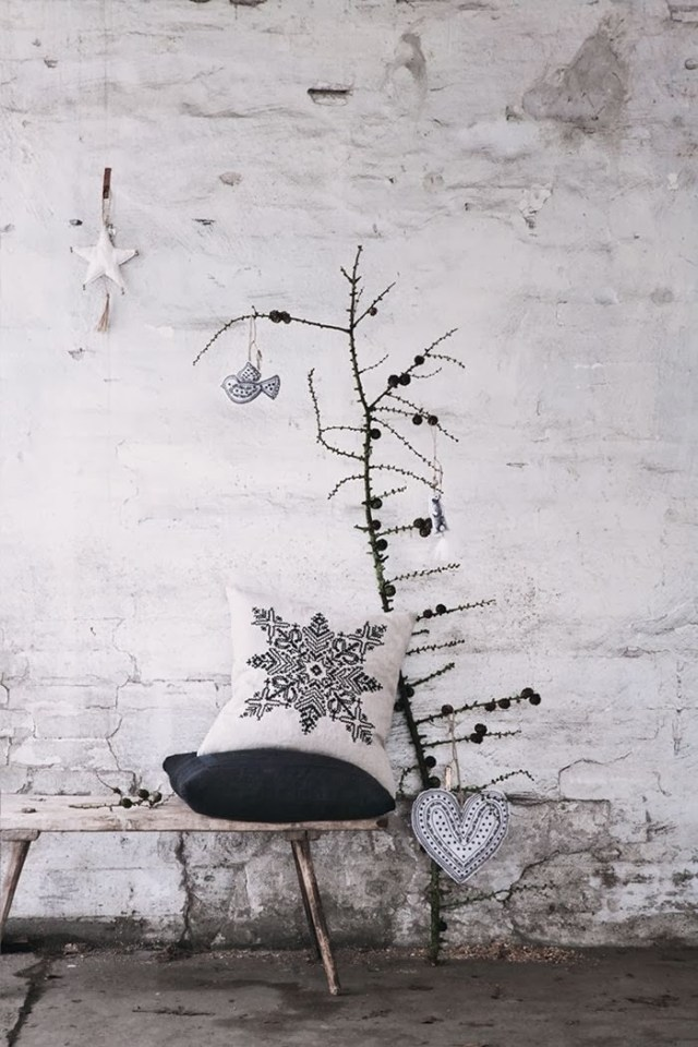 wooden Christmas tree ideas5