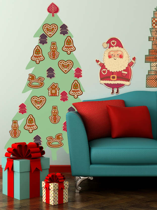 Diy adhesive Christmas Trees by Pixers9
