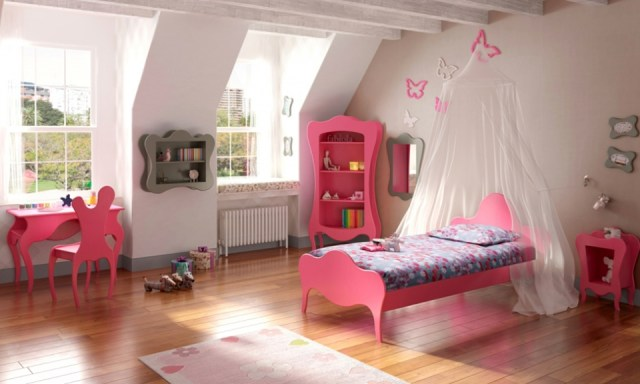 Bright collection of children's furniture