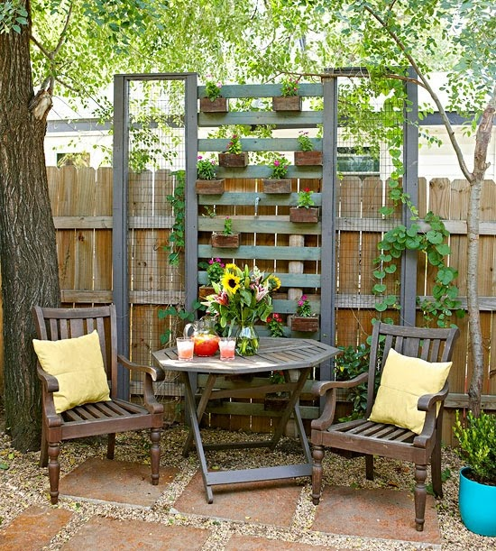 Ideas for small gardens - Balconies18