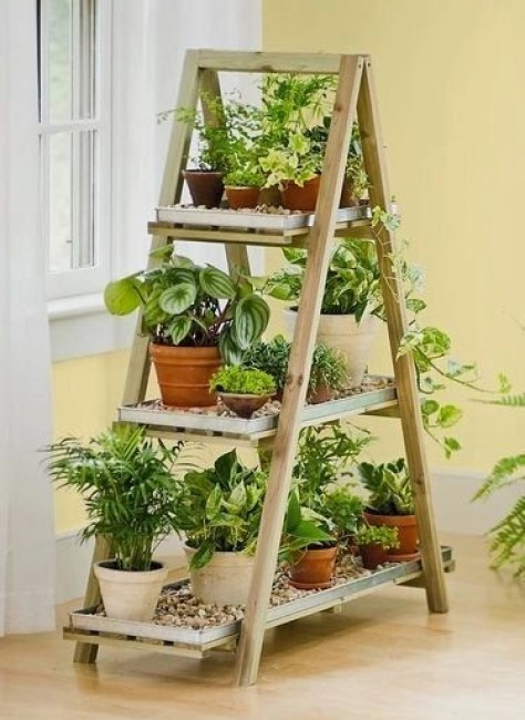 Ideas for small gardens - Balconies33