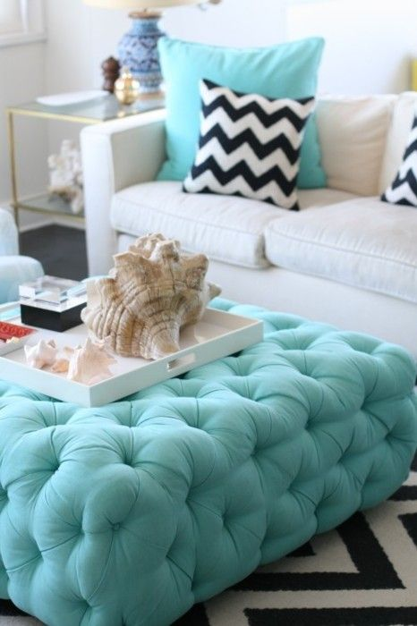 Choose turquoise to decorate10