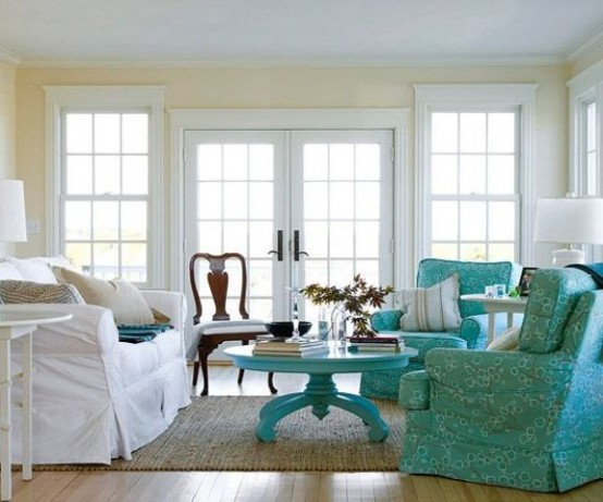 Choose turquoise to decorate8
