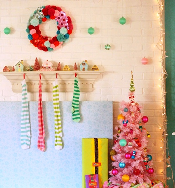Colorful Christmas ideas11