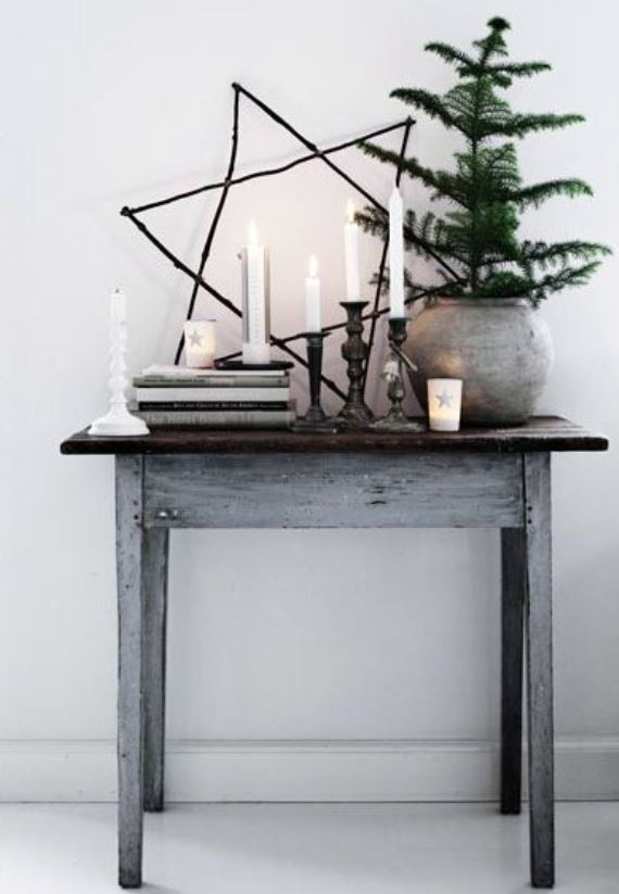 Rustic Crhistmas decor ideas13