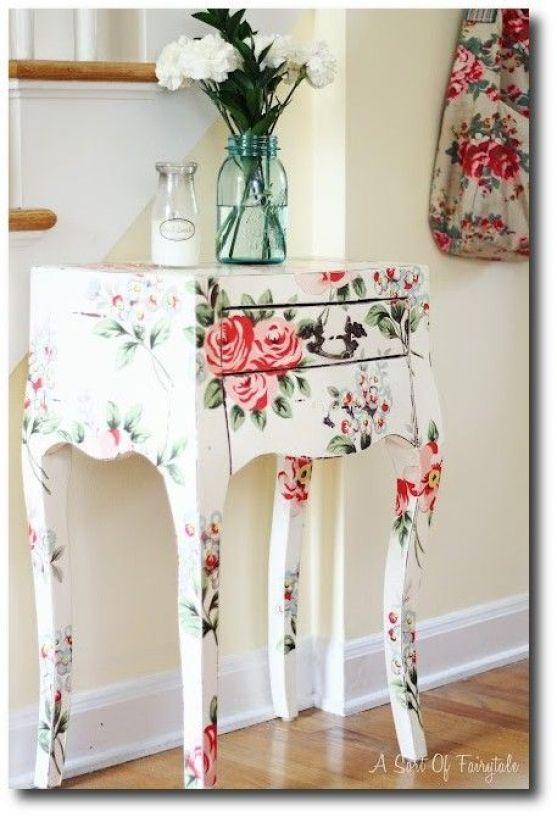 Furniture decoupage ideas4