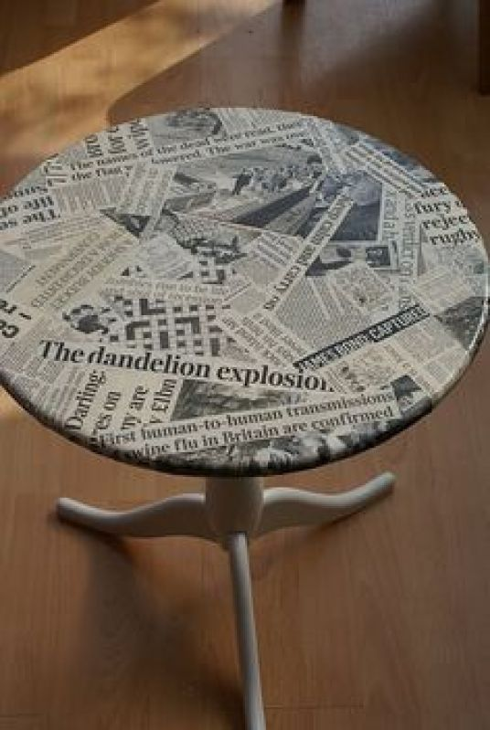 Furniture decoupage ideas8