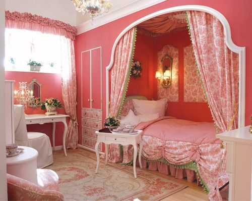 Girly children's rooms ideas8