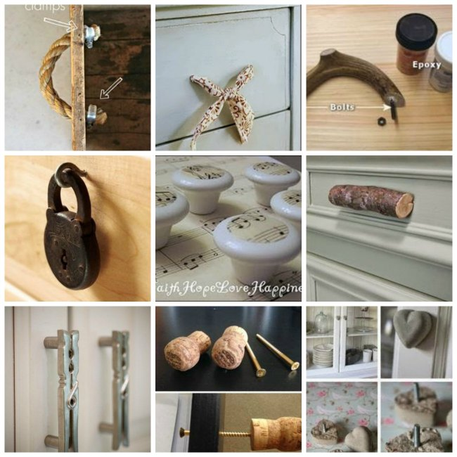 40 Ideas for knobs - Furniture handles