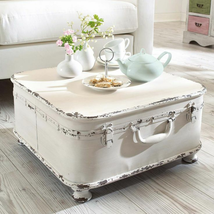 Shabby Chic, retro and industrial styles34