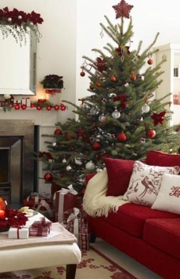 Red Christmas ideas9