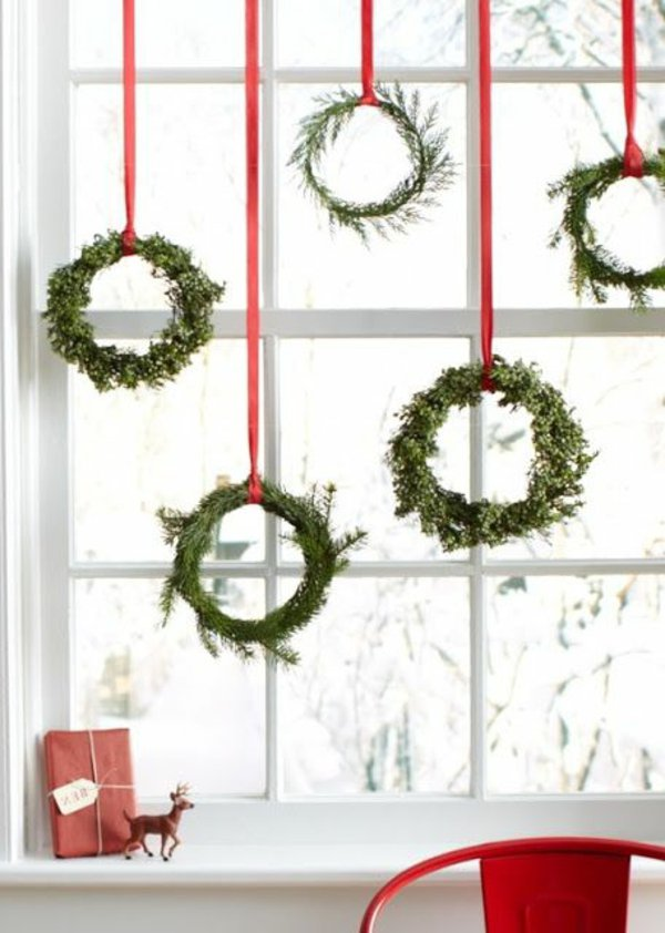 Window decorations for Christmas16
