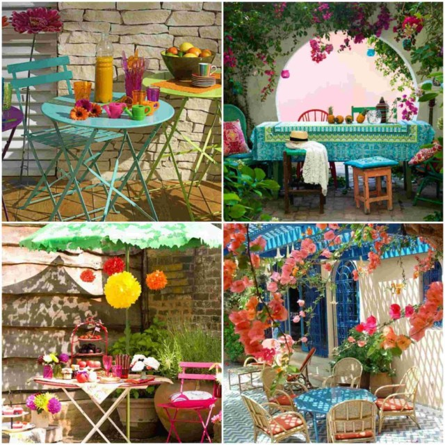 colorful garden ideas