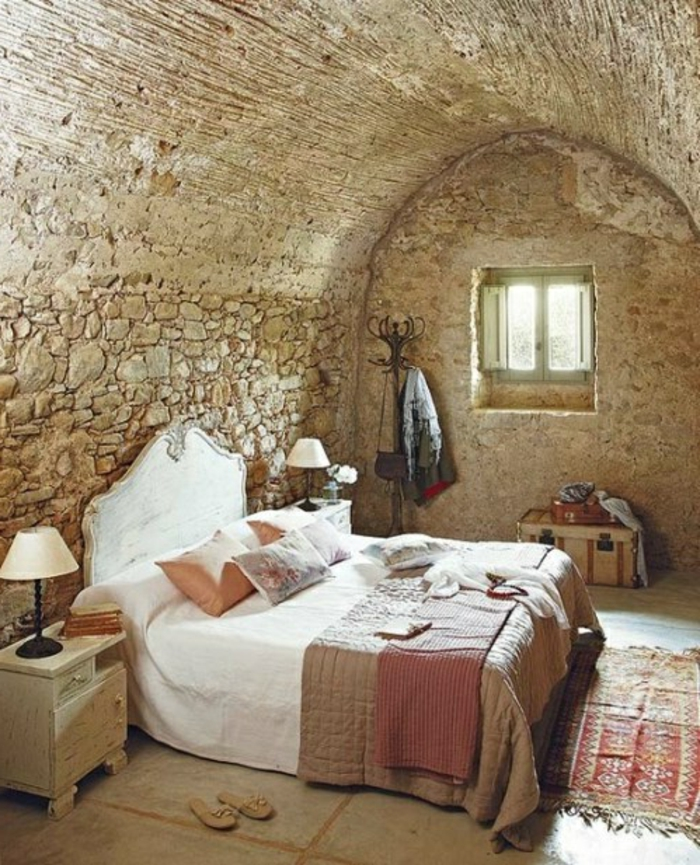Exposed stone wall ideas2