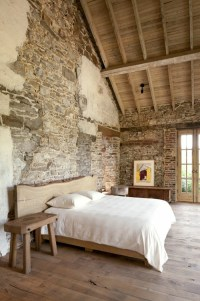 57 Exposed stone wall ideas for a modern interior | My ...