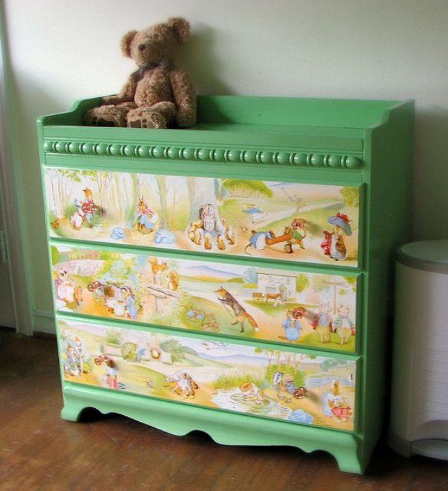 Furniture Decoupage ideas17