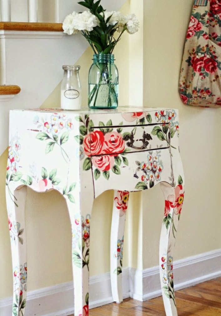 39 Furniture Decoupage Ideas Give Old Things A Second