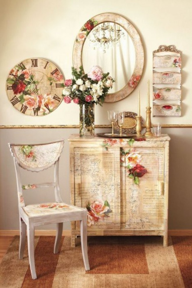 Furniture Decoupage ideas29