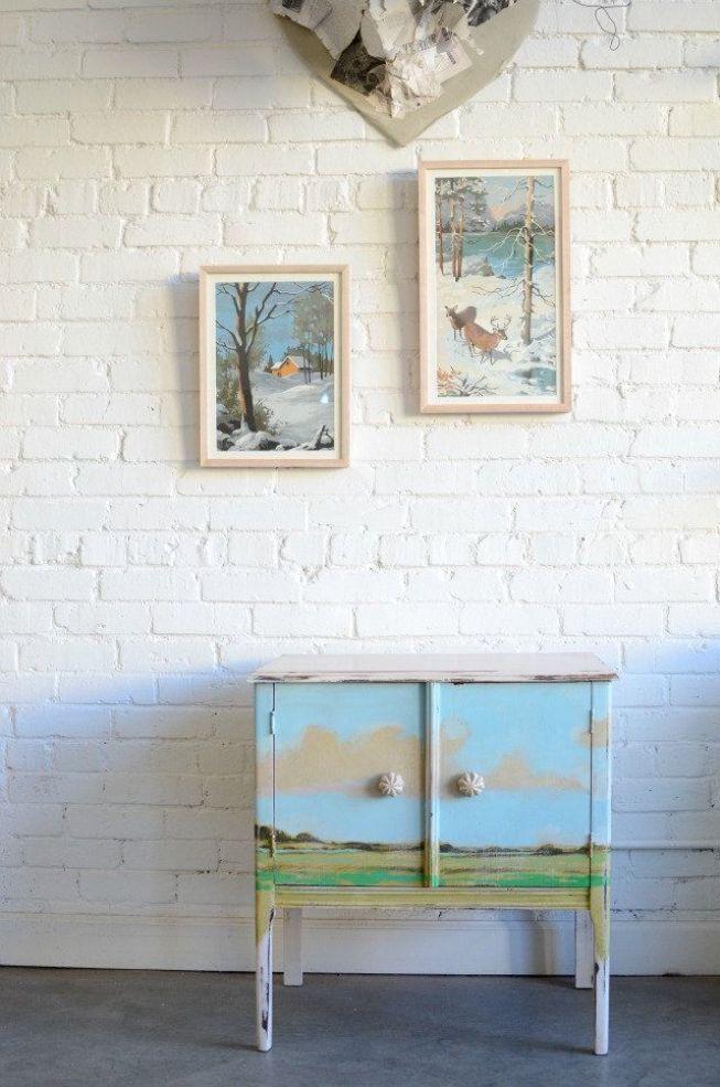 Furniture Decoupage ideas33