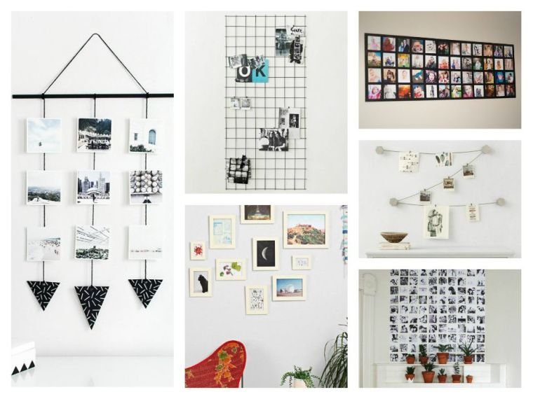 creative ideas to display pictures
